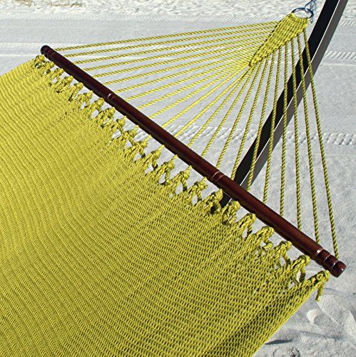 Jumbo Caribbean Hammock in Olive Polyester - overstock sale Caribbean Hammocks http://smile.amazon.com/dp/B00PMIDKU2/ref=cm_sw_r_pi_dp_TpDcvb0P432WS