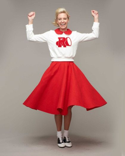 b46a274edf7d Grease® Cheerleader Costume For Women - exclusively ours - Join the Rydell  High cheerleading squad and rally the crowds on game day!