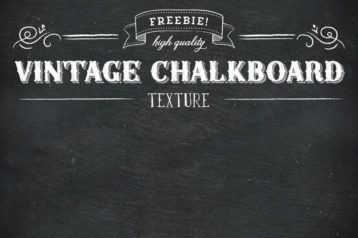 Free Vintage Slate Chalk Board Texture