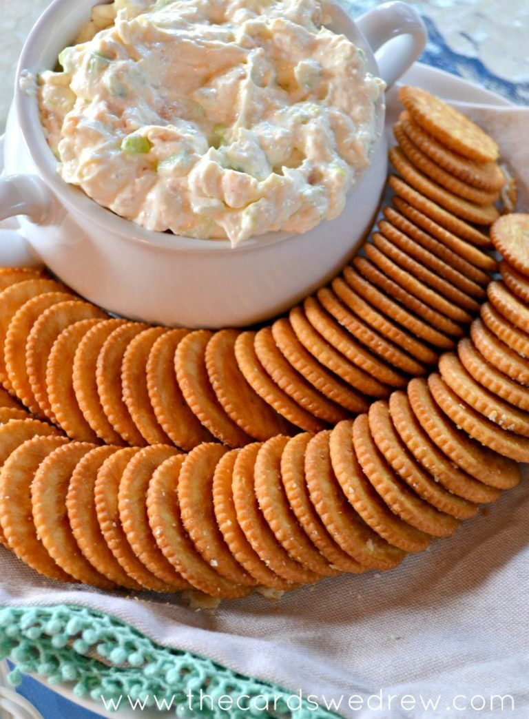 The Best Shrimp Dip is part of Best appetizers Cold - Make an easy and delicious appetizer this weekend with this recipe for the Best Shrimp Dip!! It's sure to WOW all your guests!