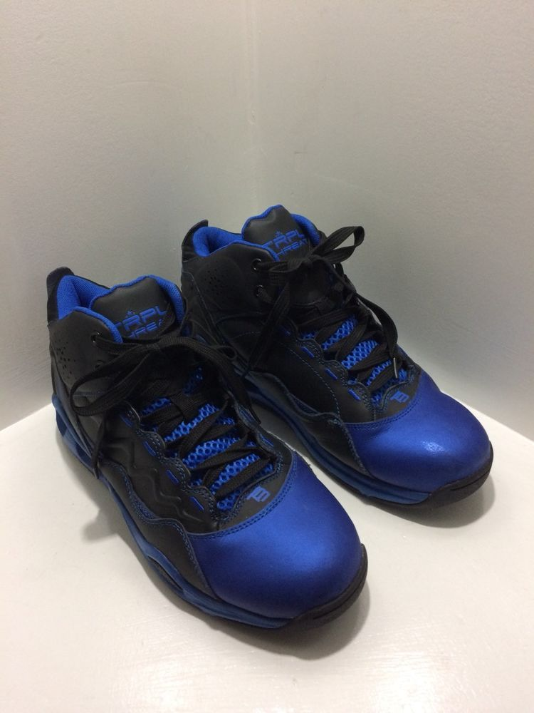 caca63f9d TRPL THREAT (T3) Savage Mens Royal Blue Leather Hip Hop Sneakers Size 11   fashion  clothing  shoes  accessories  mensshoes  athleticshoes (ebay link)