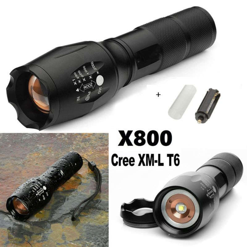 Cree Zoomable Torch Xm G700 T6 X800 Led Military 5000lm L Flashlight xeBodQrCW