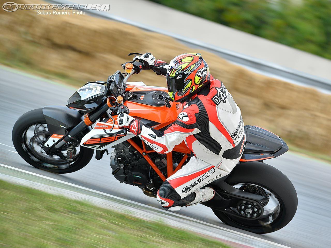 2015 Ktm 1290 Super Duke R Track Ride Photos Motorcycle Usa