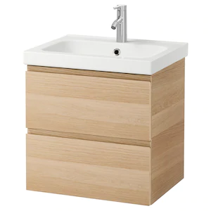 Meuble Sous Lavabo Ou Vasque Pour La Salle De Bain Ikea En 2020 Meuble Lavabo Lavabo Ikea Mitigeur Lavabo