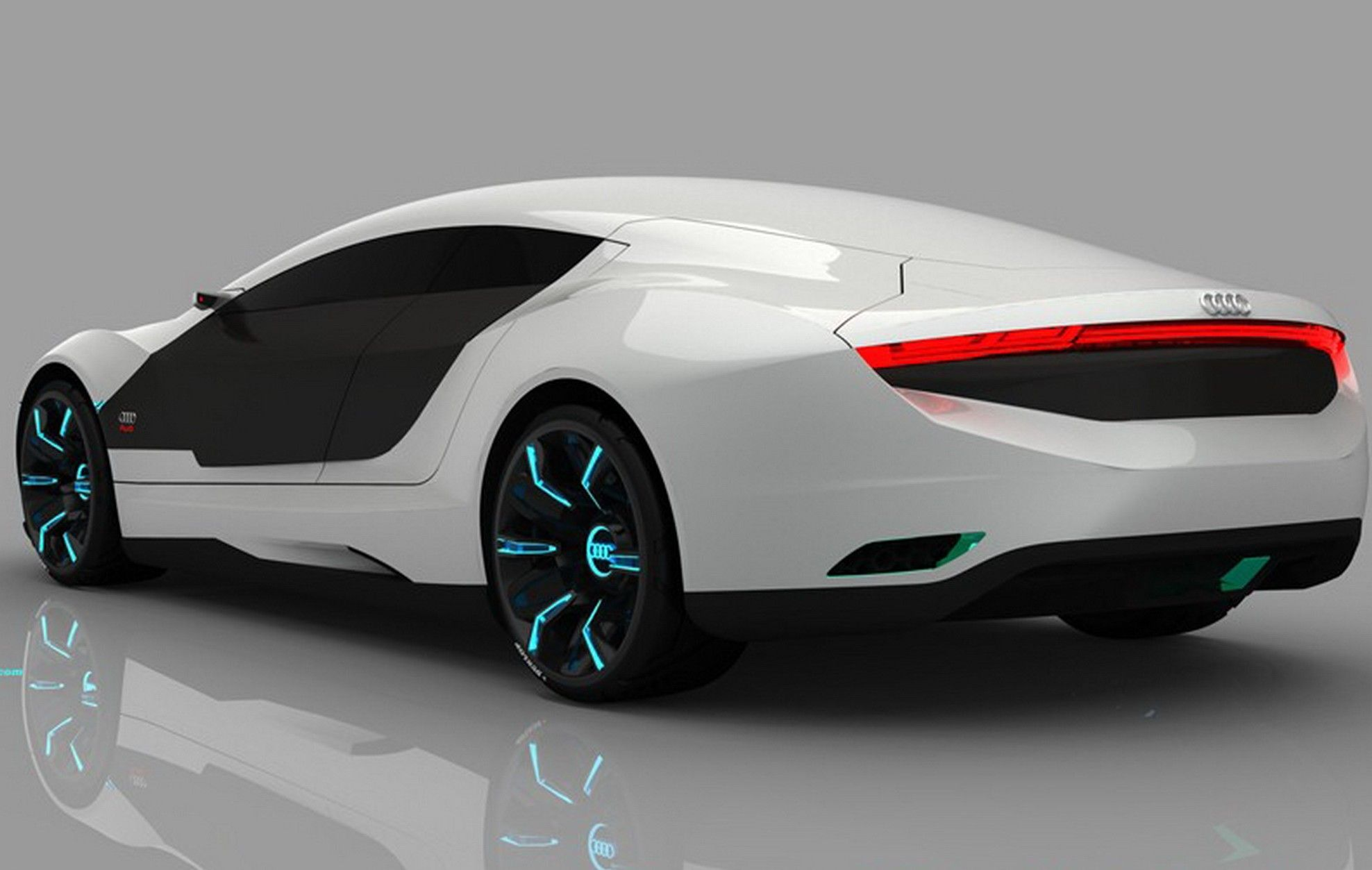 Likely cars of the future likely cars of the future http www - The Brainchild Of Spanish Car Designer Daniel Garcia The Audi Concept Is A Low Emission Hybrid Vehicle For The Future
