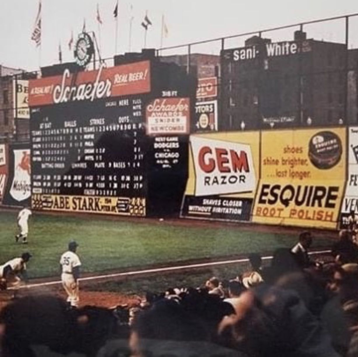 Pin by FrTodd Bragg on Ebbets Field in 2020 Baseball