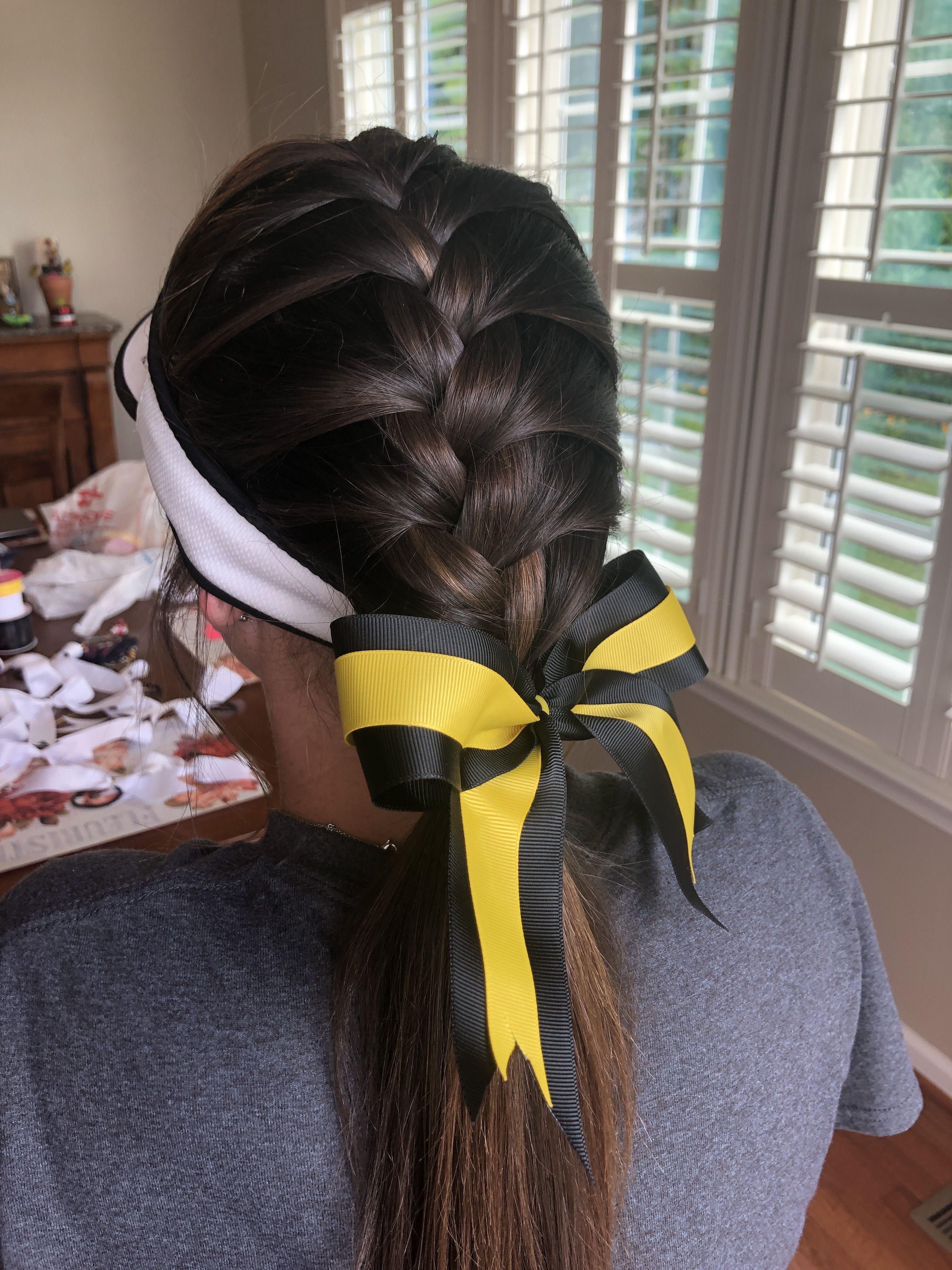 Softball Hair Sports Hairstyles Softball Hair Braids Softball Hairstyles