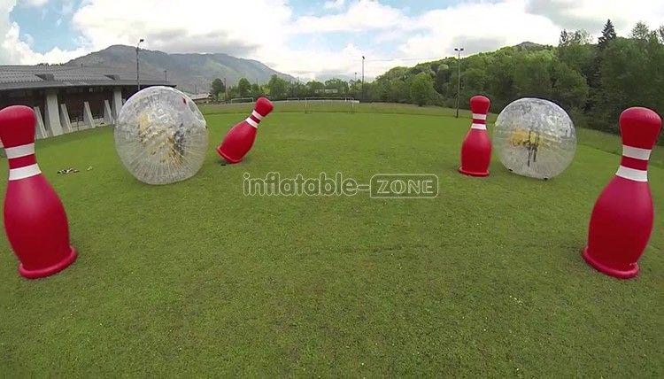 Buy Free shipping,4 human bowling balls with 2 zorb ball