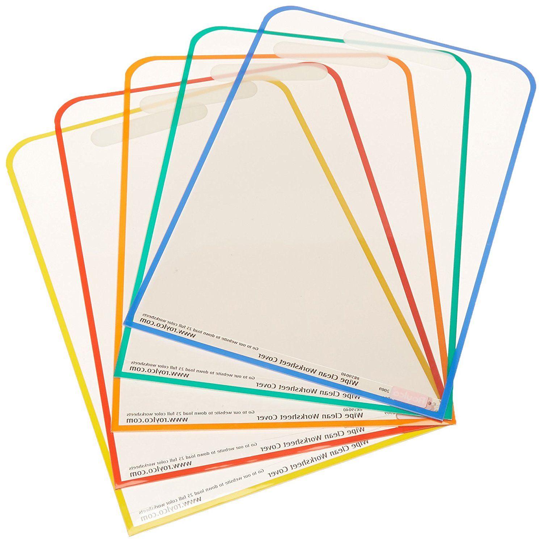 Amazon Roylco R Dry Erase Wipe Clean Worksheet