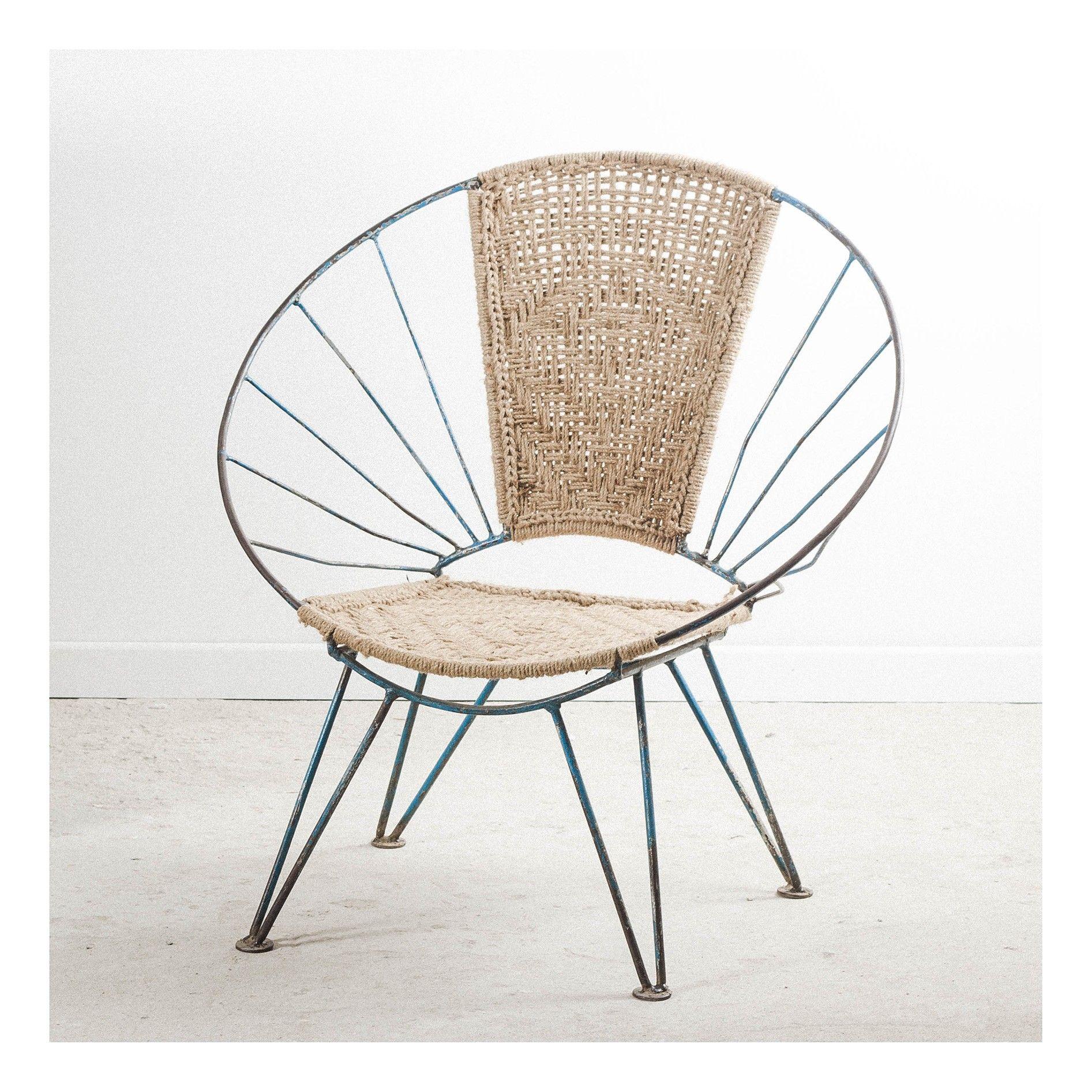 Epingle Par Interieur Creatif Sur Retro Chaise Ronde Fauteuil Osier Fauteuil