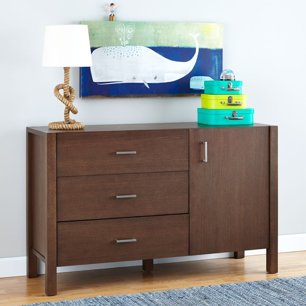 Uptown Wide Dresser (Brown)