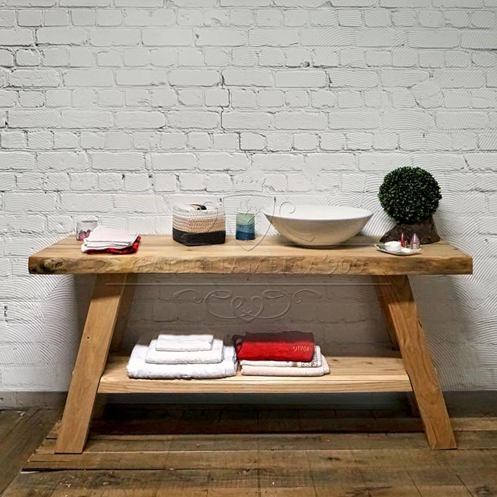 mobile bagno legno grezzo ~ Comarg.com = Lussuoso Design del Bagno ...