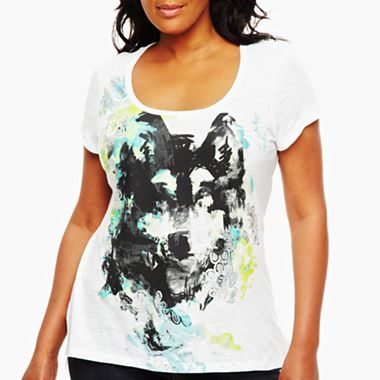 1421b86570f a.n.a® Scoop-Neck Graphic Tee - jcpenney.. I have this one and I love it!