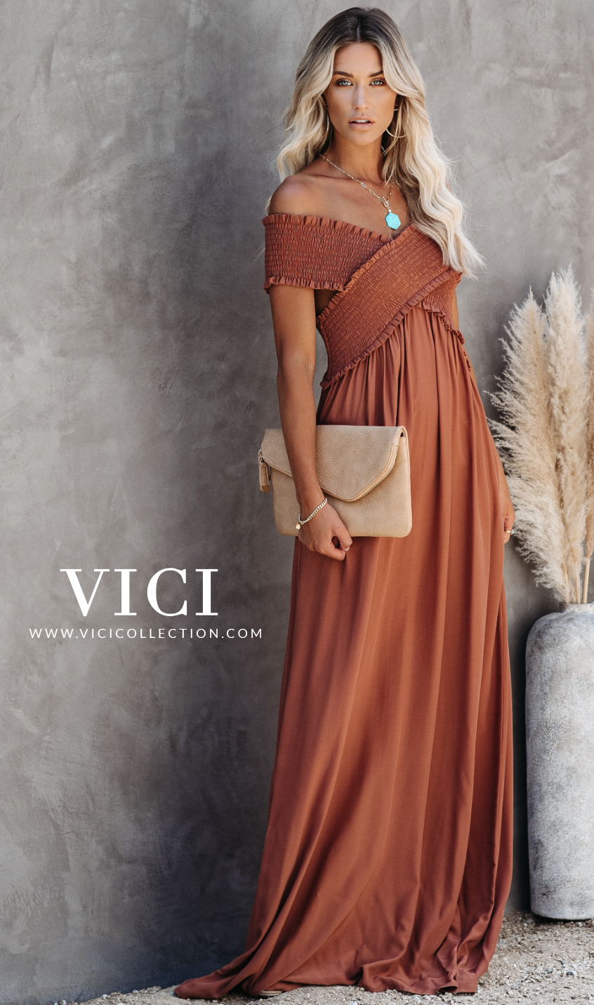 Shop Vici Daily New Arrivals That Embody Everything Chic On Trend Www Vicicollection Com Vici Dress Maxi Dress Shoulder Maxi Dress [ 1432 x 846 Pixel ]