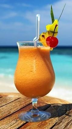 I'll take two! #cocktail #tropical #beach #ocean #drinks