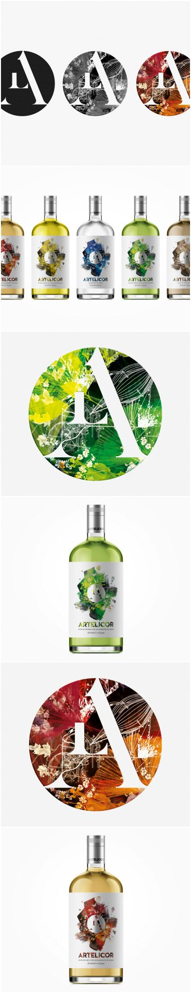 Creativity And Design For The Range Of Liquors Artelicor