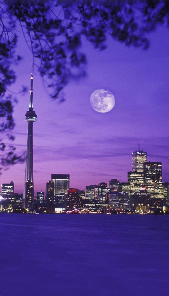 Toronto, Canada. A view from the Toronto Islands