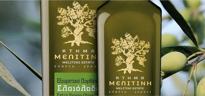 Extra Virgin Olive Oil from Sparta - Lakonia