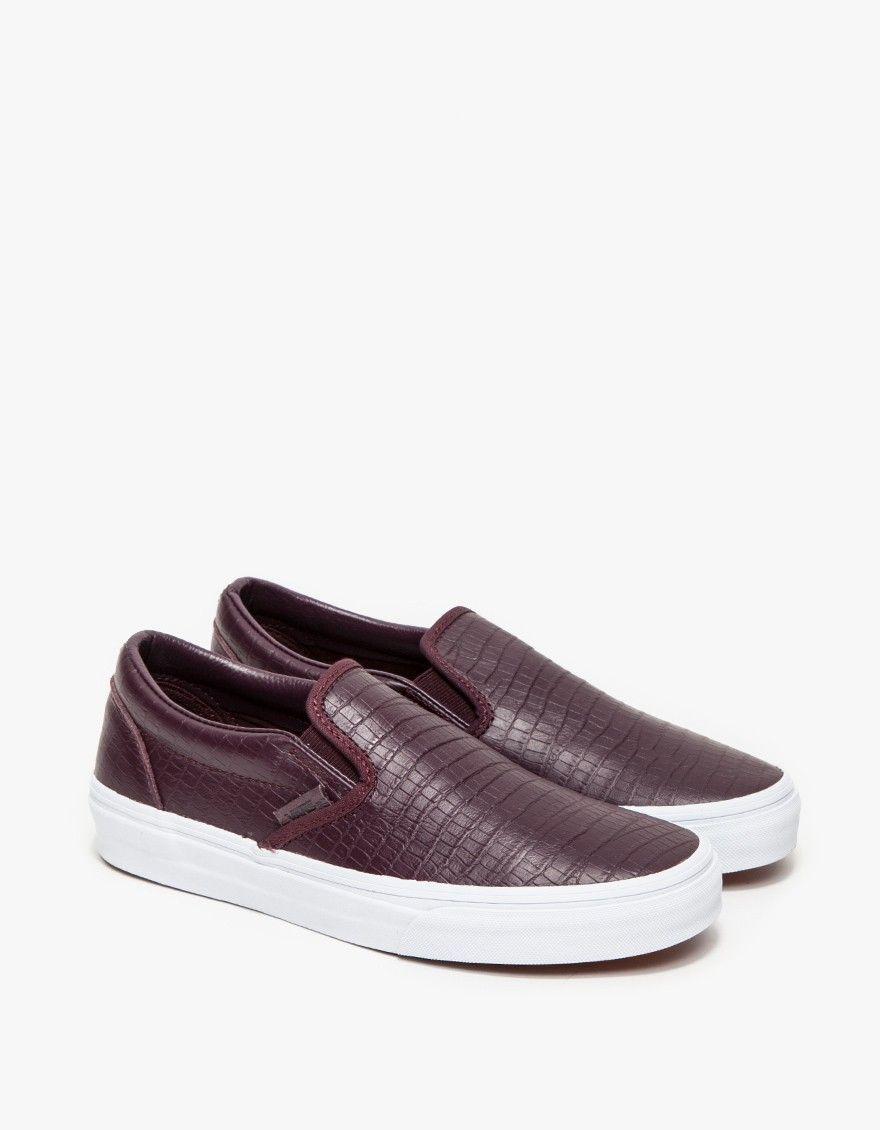 Vans / Classic Slip-On CA in Croc
