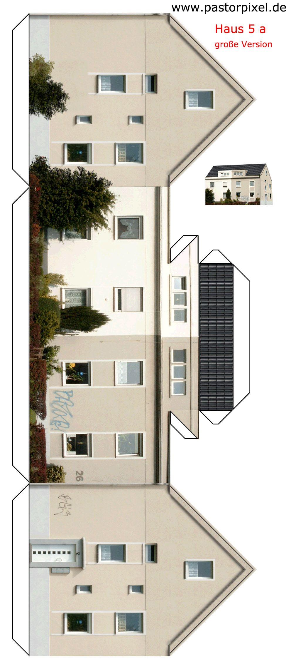 ausschneidebogen dortmund haus bauanleitung bogen ausschneiden und 3d papier. Black Bedroom Furniture Sets. Home Design Ideas