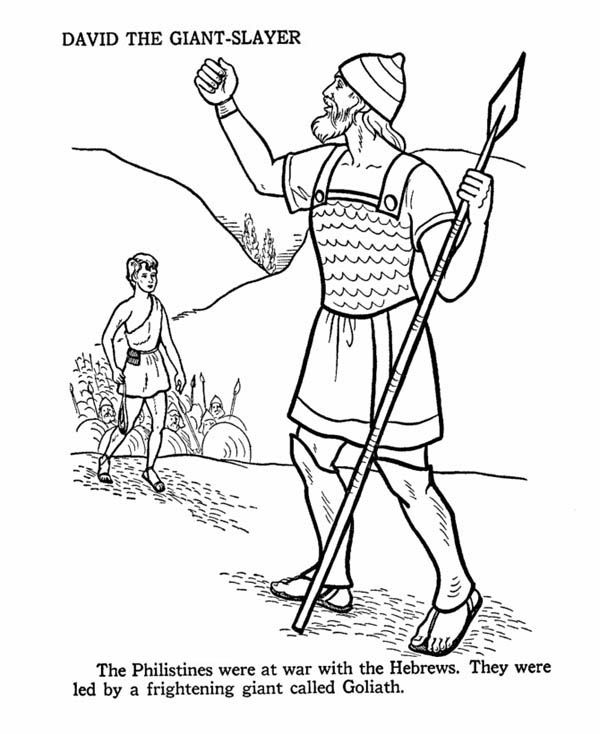 Free david and saul coloring pages Bible Class United Kingdom