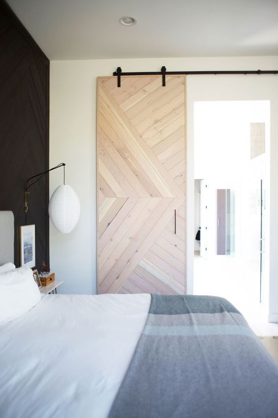 Bathroom Remodel With Stikwood: DIY This Barn Door With Stikwood