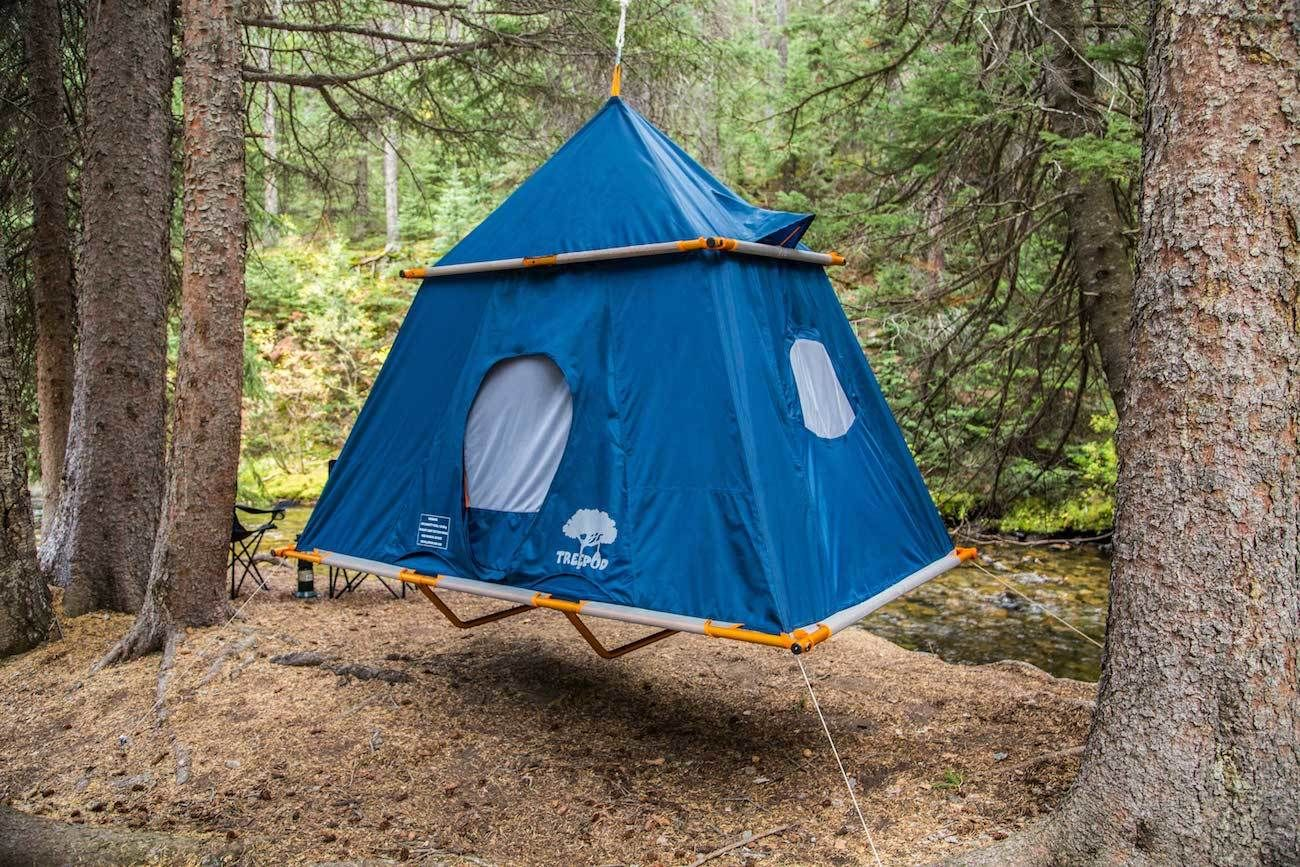 TreePod C&er Elevated Tent & TreePod Camper Elevated Tent | Tents Stay safe and Spaces