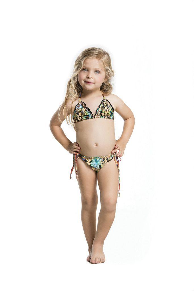 Peixoto Kids Juju | Designer Kids Crochet Bikini | Agua ...