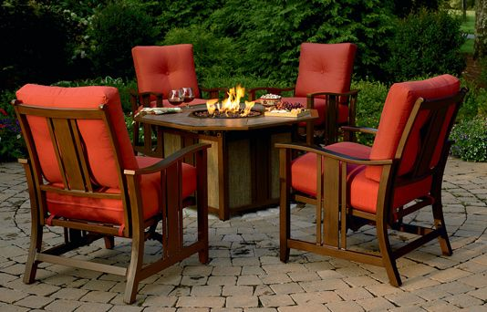 Sears Fire Pit Table Set Love This Set For The Home Pinterest