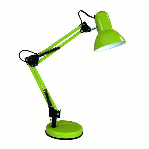 Lampada Da Scrivania Flessibile Ennis Verde Lampade
