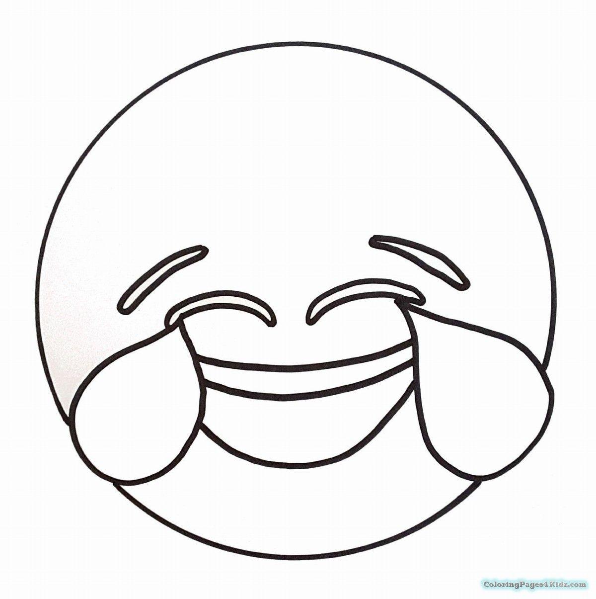 Emoji coloring pages sketch coloring page
