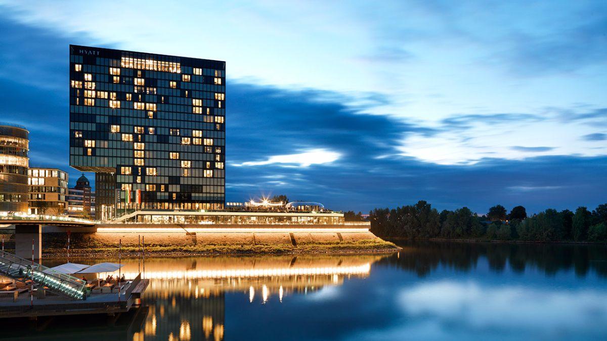 City Hotel Hyatt Regency Düsseldorf Hotel düsseldorf