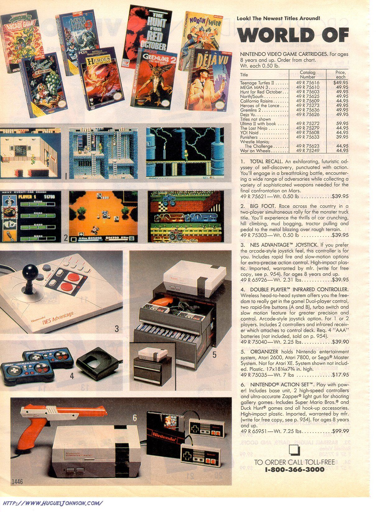 Nintendo in Sears Catalog for Christmas with year kicked off a new era in content marketing.   My Dad somehow got us one that first Christmas of Nintendo and the hunt was on for games!