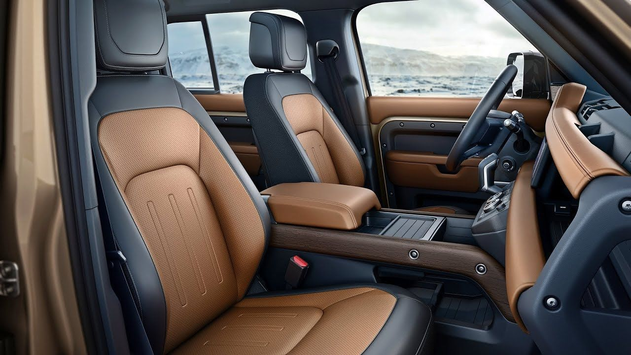 2020 Land Rover Defender Interior And Features Youtube In 2020