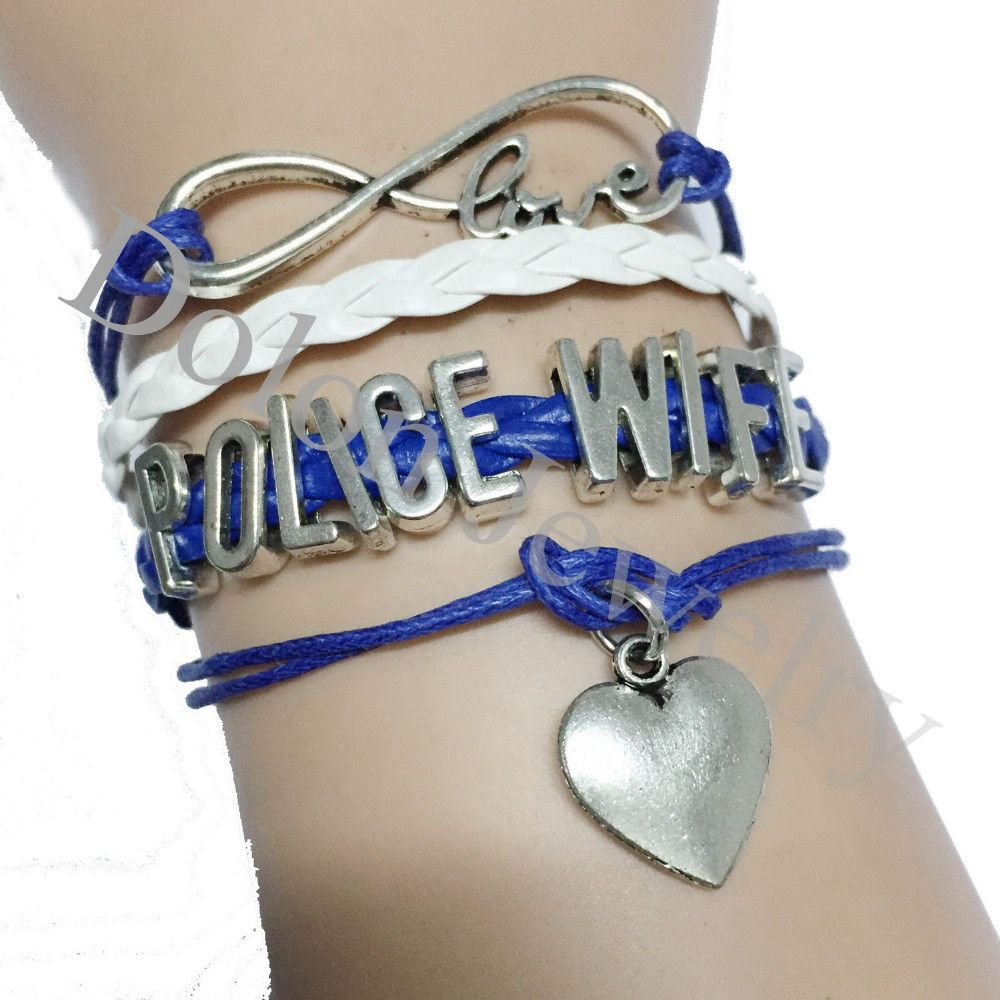 Police Wife Bracelet