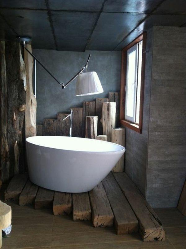 Modernes Badezimmer   Verschiedene Mögliche Stile Fürs Moderne Bad |  Pinterest | Badezimmer Rustikal, Moderne Badezimmer Und Wandfarbe