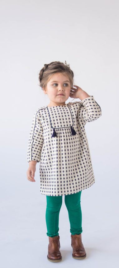 ac87e319f3e30 Well made fall dresses for your daughter's fall wardrobe couldn't be ...