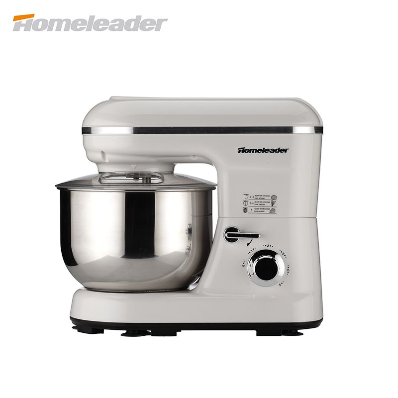 Homeleader Küchenmaschine, 5-gang Edelstahl Mixer mit 5L Schüssel ...