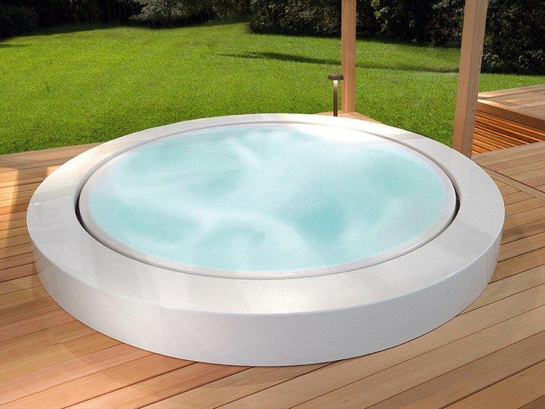 Whirlpool einbau badewanne minipool kollektion outdoor by kos by zucchetti design ludovica - Einbau whirlpool outdoor ...