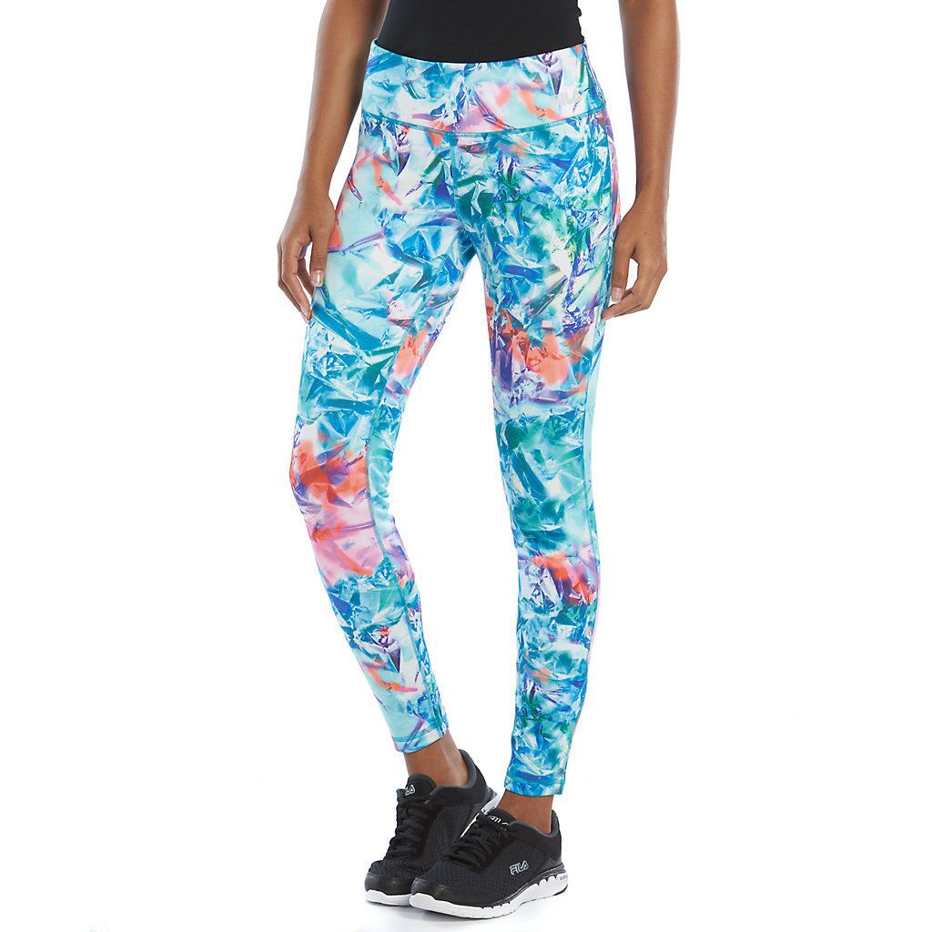 ccde7fed11589 FILA SPORT® Fleece-Lined Active Leggings - Women's | Gym Wear ...