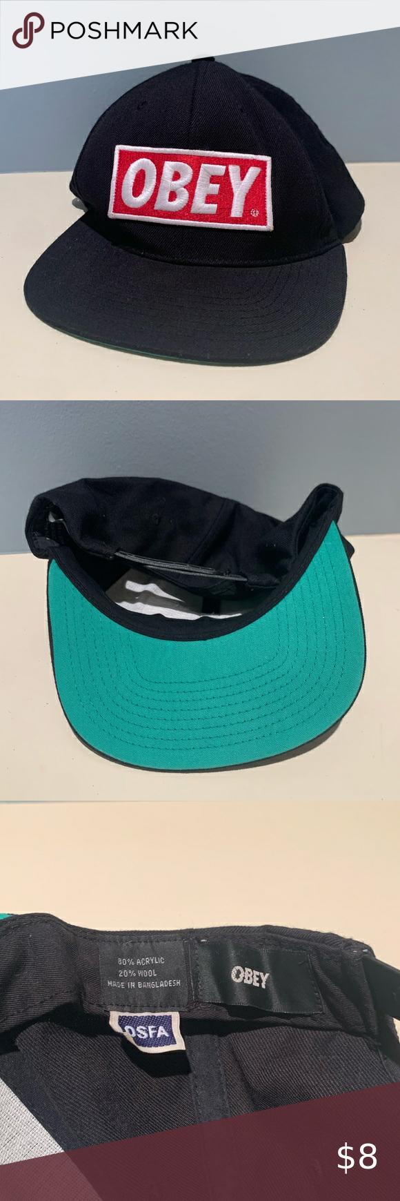 Obey Flat Brimmed Hat Flat Brim Hat Fashion Trends Worn