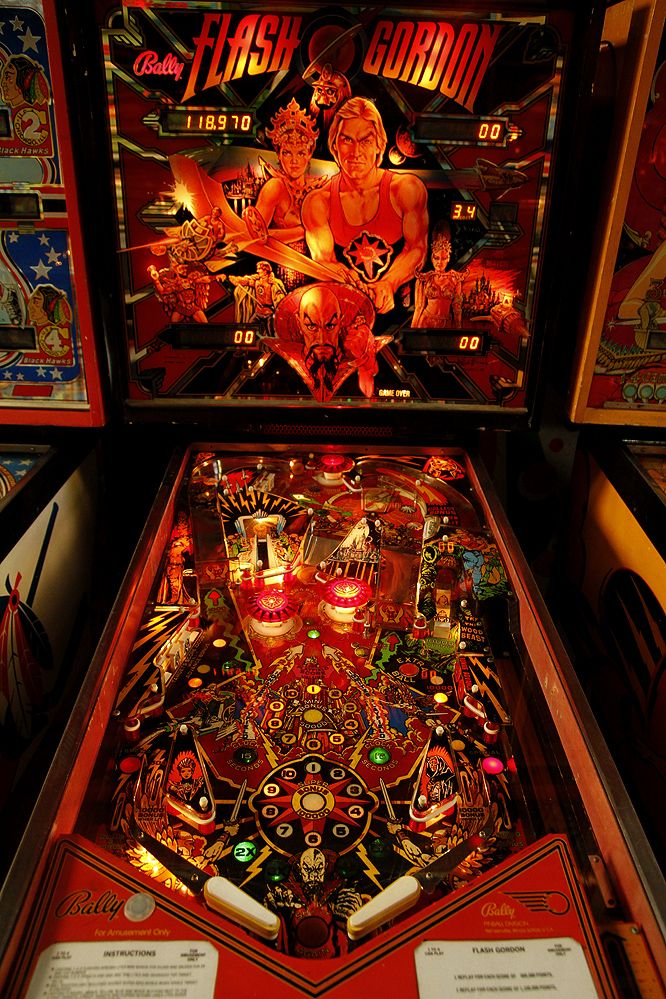 Flash Gordon my first love    | My style | Pinball, Arcade games