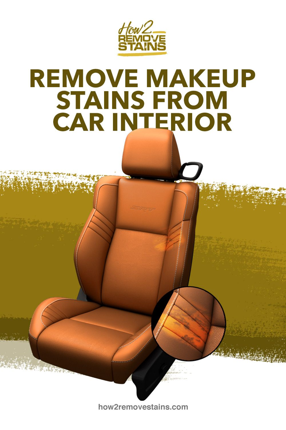 How to remove makeup stains from car interior in 2020