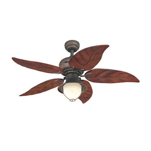 Bronze Havana Abs Blade Tropical Indoor Outdoor Ceiling: Oasis 48 Inch Oil Rubbed Bronze Ceiling Fan Westinghouse