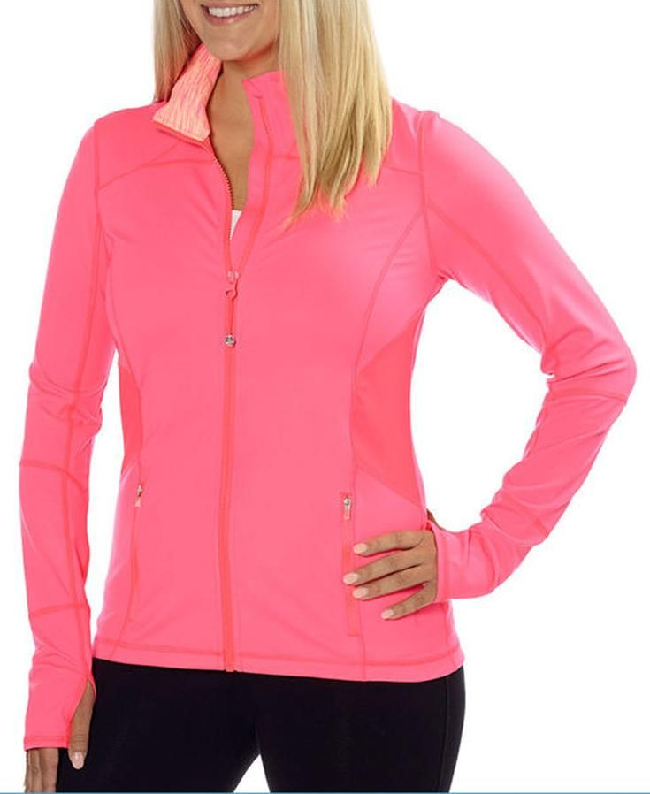 c129cd3a19f3d Kirkland Signature Ladies' Active Jacket - Coral | Costco Fashion in ...
