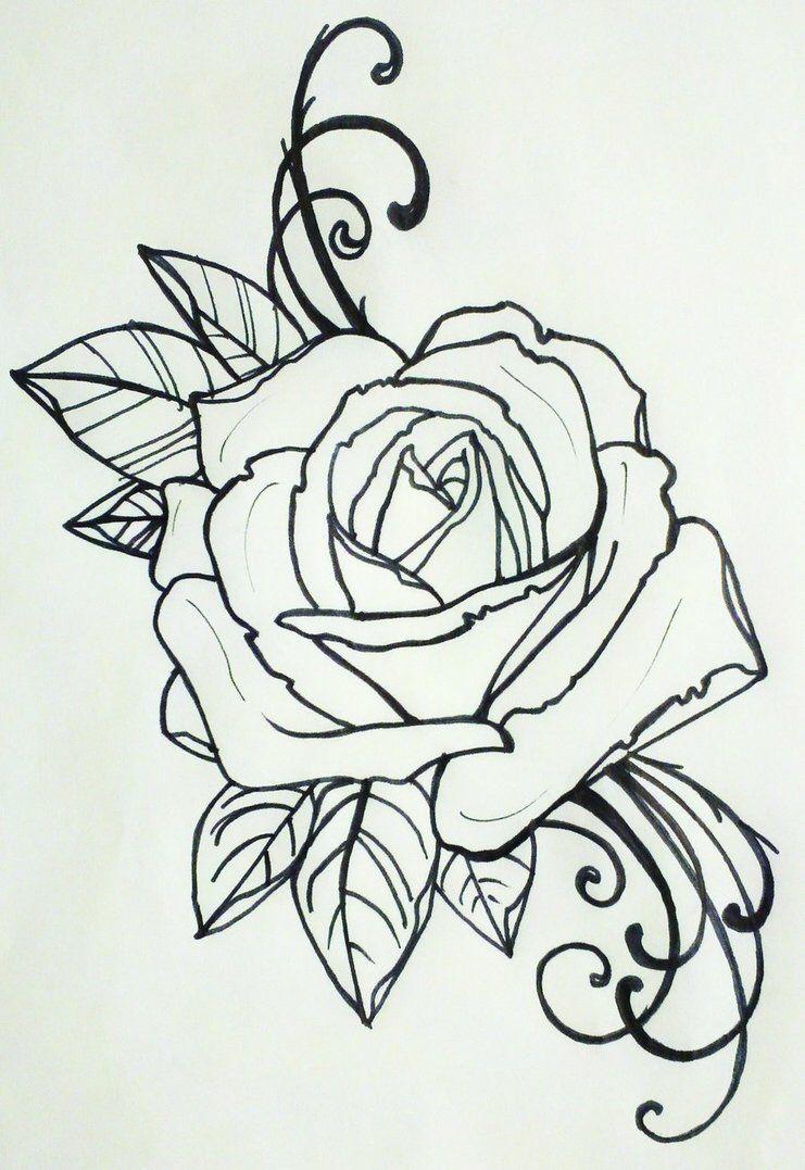 die rose als symbol der liebe treue und die unschuld tattoo ink pinterest. Black Bedroom Furniture Sets. Home Design Ideas