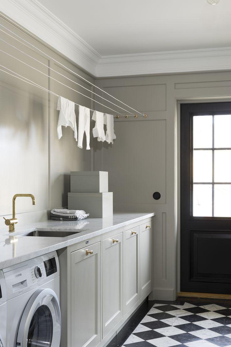Best Basement Laundry Room Ideas (Basement laundry room) a budget