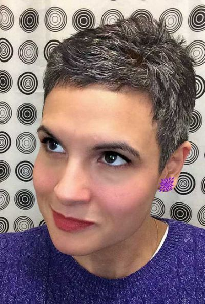 10 Pixie Hairstyles for Gray Hair | Beauty Fashion Fitness ...