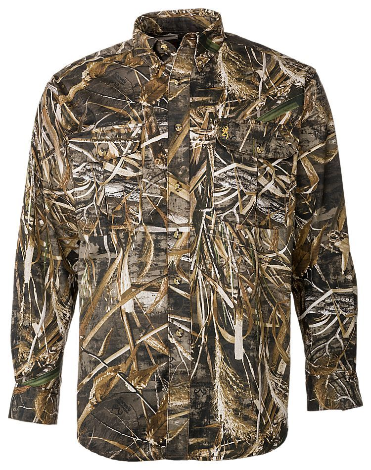 996935b507661 Browning Wasatch 7-Button Shirt for Men | Bass Pro Shops: The Best Hunting,  Fishing, Camping & Outdoor Gear