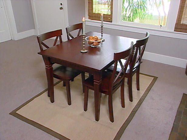 Dining Room Rugs Under Table